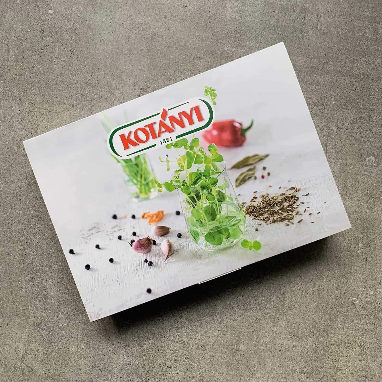 Innovative Lebensmittelverpackung für Kotanyi