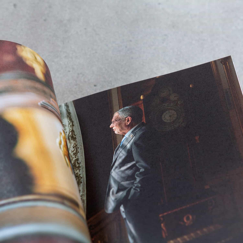 Broschüre drucken lassen - der Bundespräsident