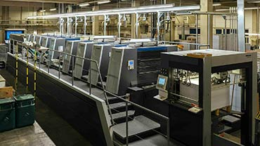 Druckerei Wien Bösmüller - Maschinen
