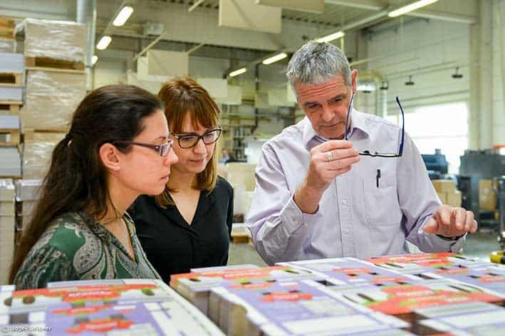 Verpackungsentwicklung und Verpackungsdesign als kreativer Prozess - Bösmüller Print Management