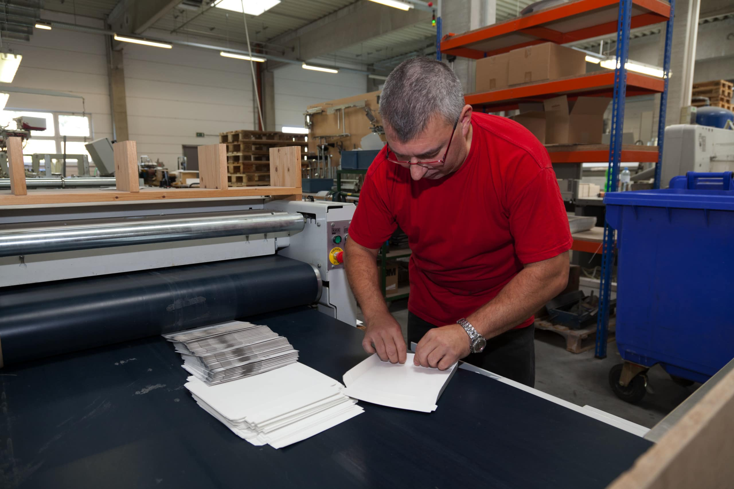 Lehre Verpackungstechniker-Buchbinderei